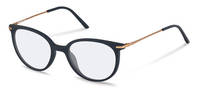 Rodenstock-Correction frame-R5312-dark blue, rose gold