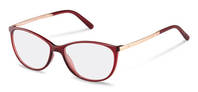 Rodenstock-Correction frame-R5315-dark red, rose gold
