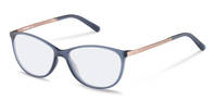 Rodenstock-Correction frame-R5315-dark blue, rose gold