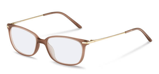 Rodenstock-Correction frame-R5319-light brown, gold