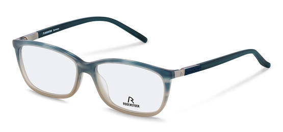 Rodenstock-Correction frame-R7009-turquoise-brown