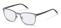 Rodenstock-Correction frame-R7032-silver/darkgreen