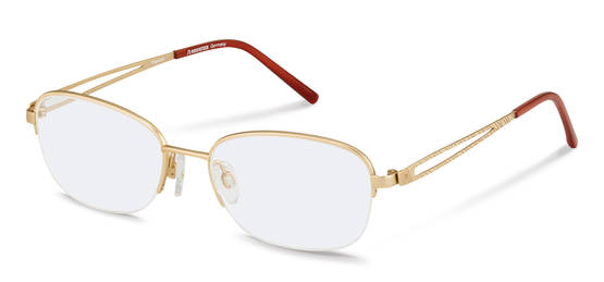 Rodenstock-Correction frame-R7057-gold, red