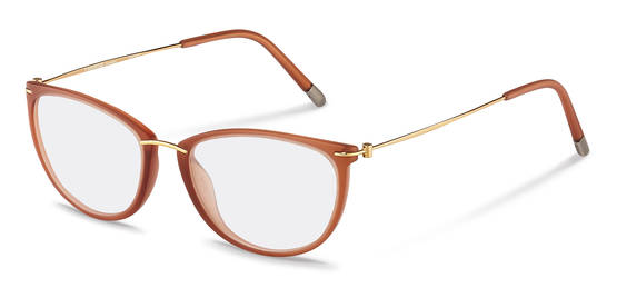 Rodenstock-Correction frame-R7070-apricolt, rose gold