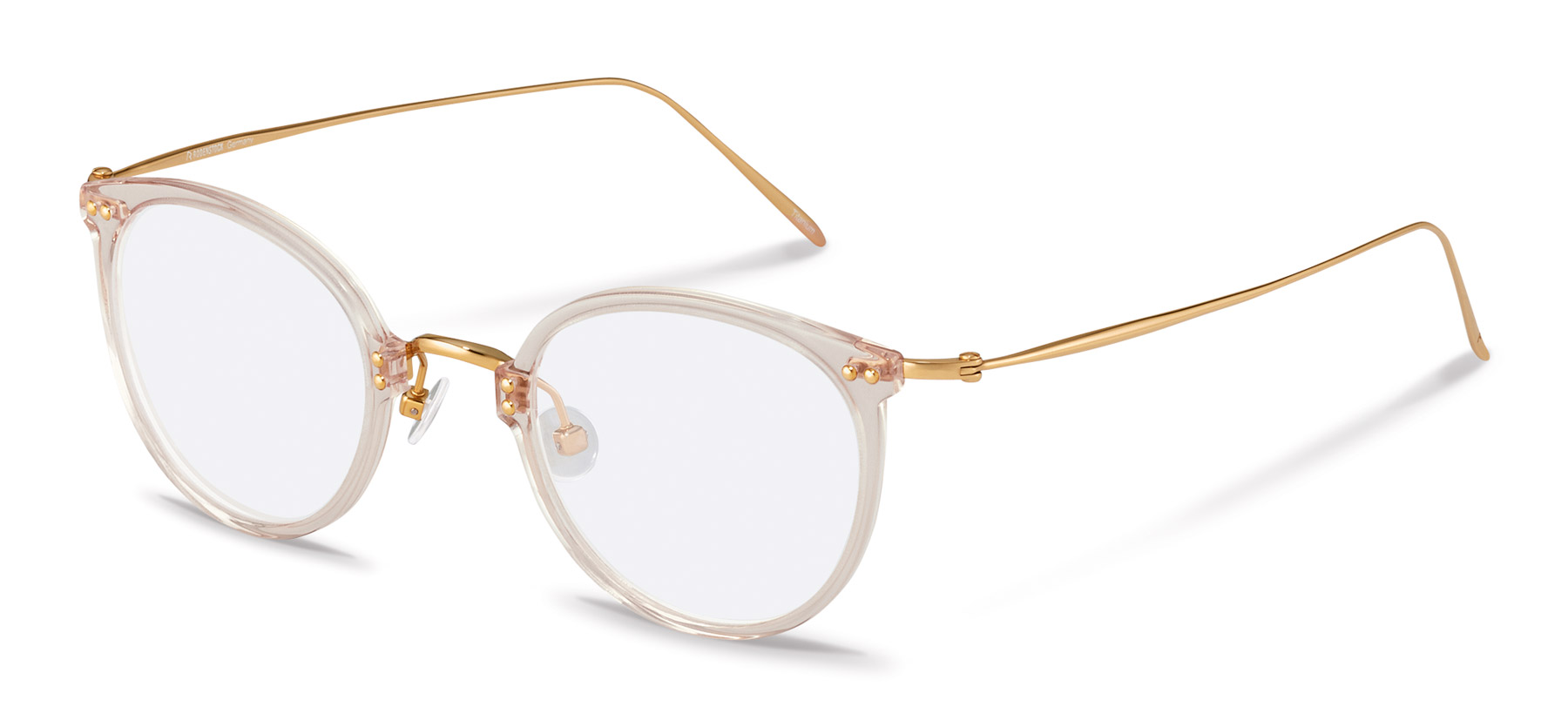 Rodenstock-Correction frame-R7079-apricot/gold
