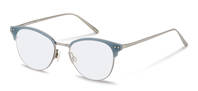 Rodenstock-Correction frame-R7081-titanium/lightblue