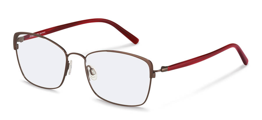 Rodenstock-Correction frame-R7087-bordeaux/redstructured