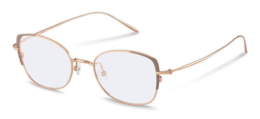 Rodenstock-Correction frame-R7095-rosegold/grey