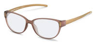 Rodenstock-Correction frame-R8016-light brown transparent