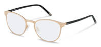 Rodenstock-Correction frame-R8023-rose gold, black