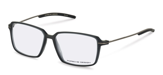 Porsche Design-Correction frame-P8311-dark grey transparent
