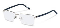 Rodenstock-Correction frame-R2605-silver, dark blue