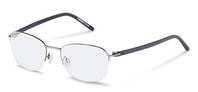 Rodenstock-Correction frame-R2606-silver/lightblue