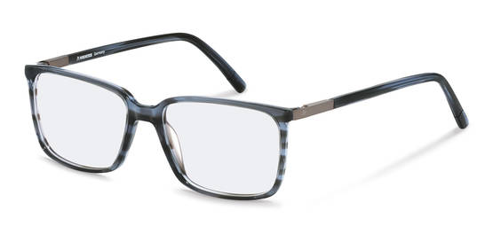 Rodenstock-Correction frame-R5320-bluestructured