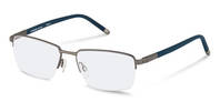 Rodenstock-Correction frame-R7049-dark gunmetal, dark blue