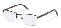 Rodenstock-Correction frame-R7049-gunmetal, dark brown