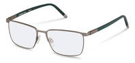 Rodenstock-Correction frame-R7050-light gunmetal, dark green