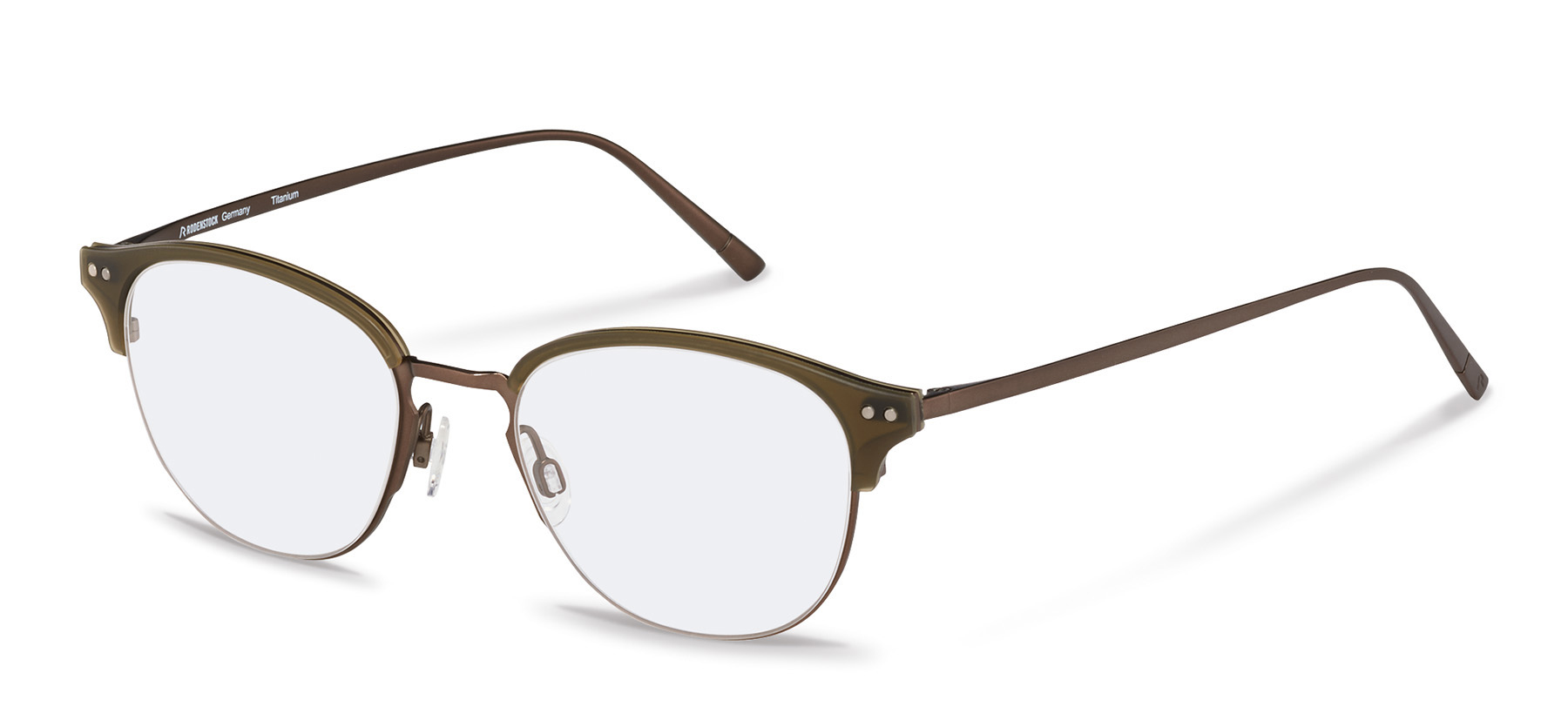 Rodenstock-Correction frame-R7083-brown/olive