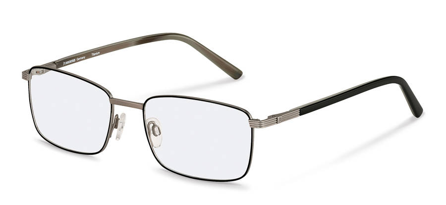Rodenstock-Correction frame-R7089-gunmetal/black