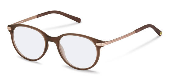 rocco by Rodenstock-Correction frame-RR439-browntransparent/rosegold