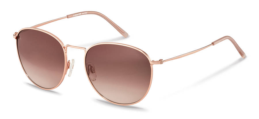Rodenstock-Correction frame-R1426-rosegold/rose