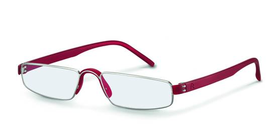 Rodenstock-Correction frame-R4829-silverred