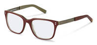 rocco by Rodenstock-Correction frame-RR423-red beige layered