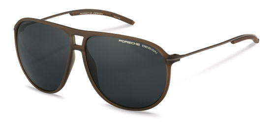 Porsche Design-Sunglasses-P8635-brown transp.