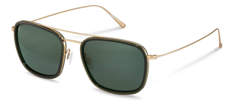 Rodenstock-Sunglasses-R7417-darkgreen/lightgold