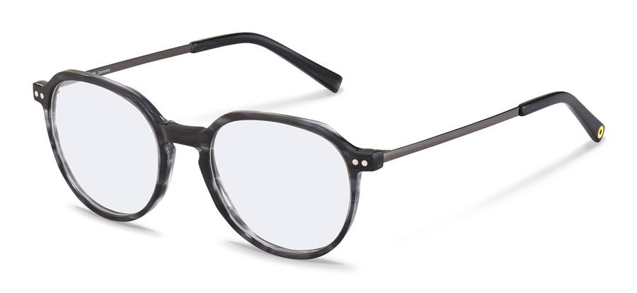 Rodenstock Capsule Collection-Monturas de corrección-RR461-darkgreystructured/darkgun