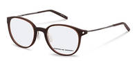 Porsche Design-Bingkai koreksi-P8335-brown