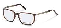 Porsche Design-Bingkai koreksi-P8338-brown