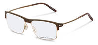 Porsche Design-Bingkai koreksi-P8361-brown