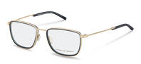 Porsche Design-Bingkai koreksi-P8365-gold/grey