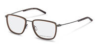 Porsche Design-Bingkai koreksi-P8365-grey/brown