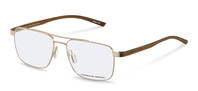 Porsche Design-Bingkai koreksi-P8393-lightgold/brown