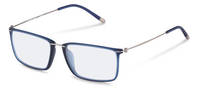 Rodenstock-Bingkai koreksi-R7064-dark blue transparent