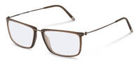 Rodenstock-Bingkai koreksi-R7071-dark brown, dark gun