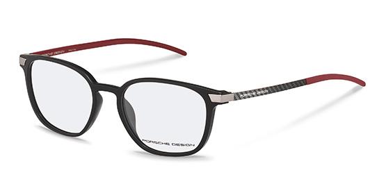 Porsche Design-Bingkai koreksi-P8348-black ed04327451