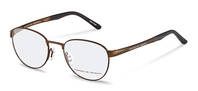 Porsche Design-Bingkai koreksi-P8369-brown