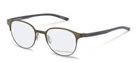 Porsche Design-Bingkai koreksi-P8376-brown