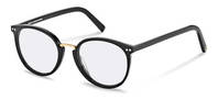 Rodenstock Capsule Collection-Bingkai koreksi-RR454-black/gold