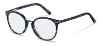 Rodenstock Capsule Collection-Bingkai koreksi-RR454-bluehavana/darkgun