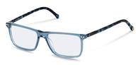 rocco by Rodenstock-Bingkai koreksi-RR437-blue transparent, blue structured