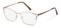 Rodenstock-Bingkai koreksi-R2634-gold/darkbrown