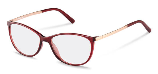 Rodenstock-Bingkai koreksi-R5315-dark red, rose gold