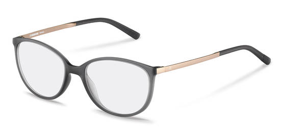 Rodenstock-Bingkai koreksi-R5316-dark grey, rose gold