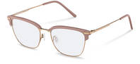 Rodenstock-Bingkai koreksi-R7109-rose/copper