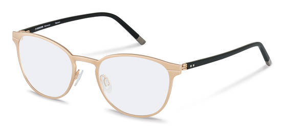 Rodenstock-Bingkai koreksi-R8023-rose gold, black