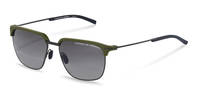 Porsche Design-Sunglasses-P8698-black/darkgreen